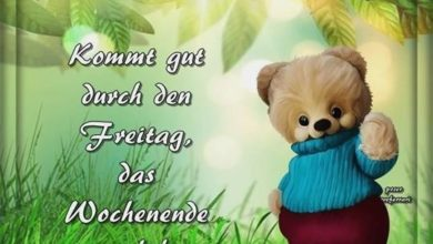 Photo of guten morgen freitag